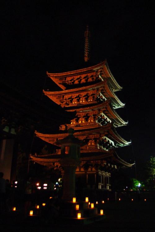 興福寺燈花会