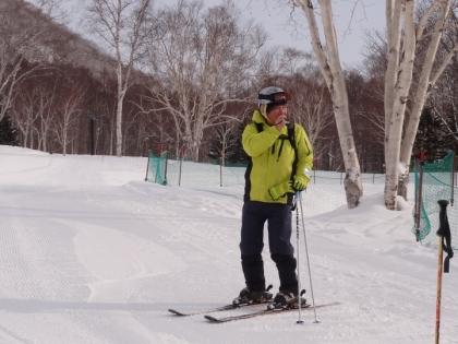 ニセコスキー場にて arandoron提供写真