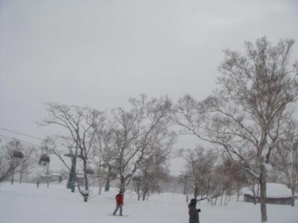 ニセコスキー場めぐり