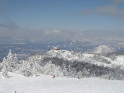 志賀高原で今季すべり納め