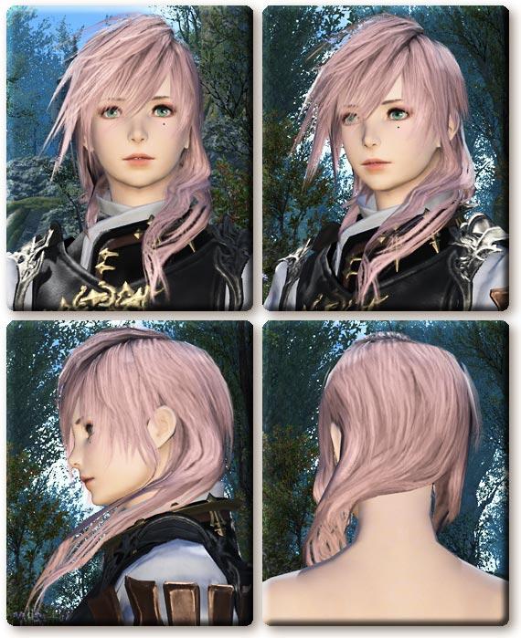 カラーバリエーション ↑と似ているけどこちらは横に髪があるタイプ。
