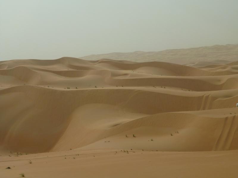世界最大砂沙漠ルブアルハリ