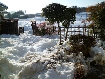 雪の捨て所なし