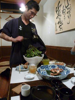 イケメン店長と強気のサラダ