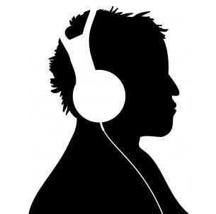 音楽鑑賞 ヘッドフォン DJ