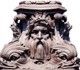 銅像 厳格