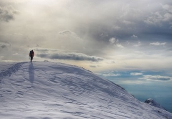 登山 山 山頂