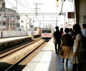 通勤電車 会社通勤 ラッシュ