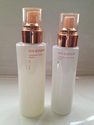 DEWスペリア化粧水&乳液1