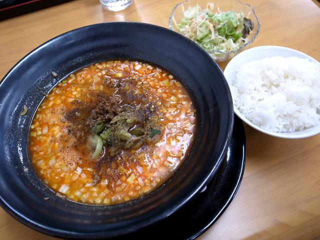 四川麻辣担々麺