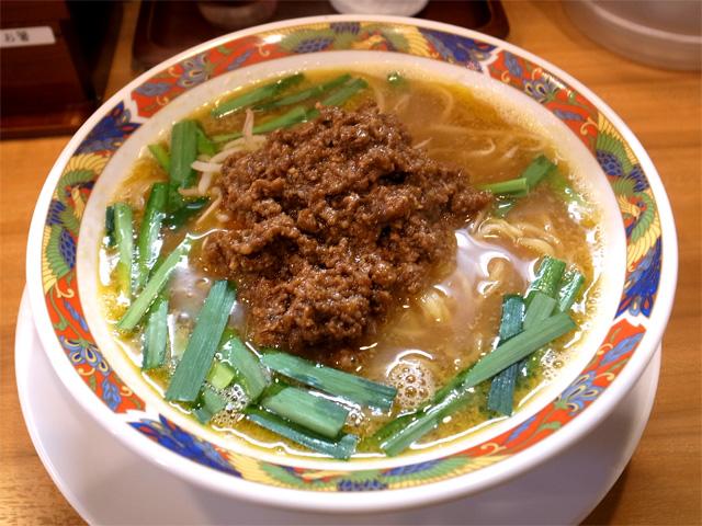 台湾風 旨辛味噌白湯