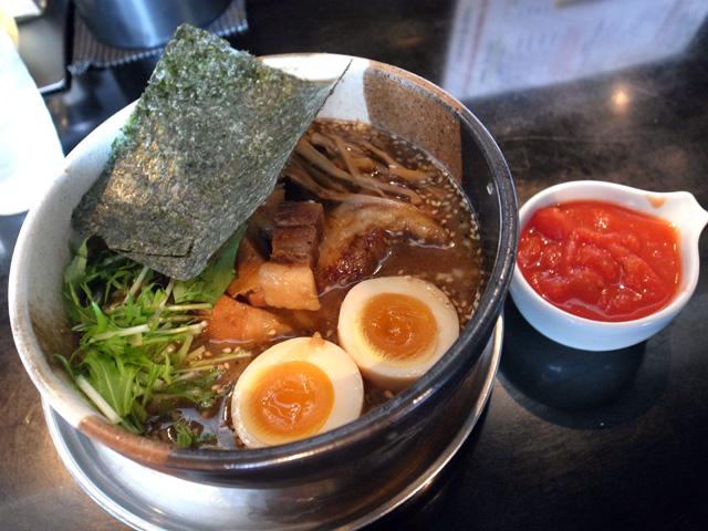 八丁味噌のらーめん feat.蕃茄