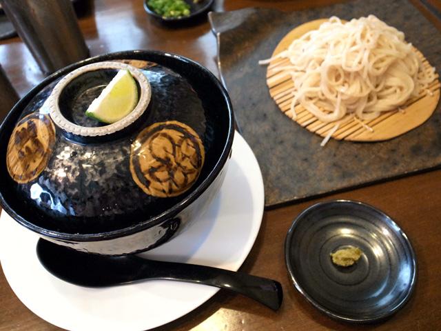 ハマグリ松茸つけ麺