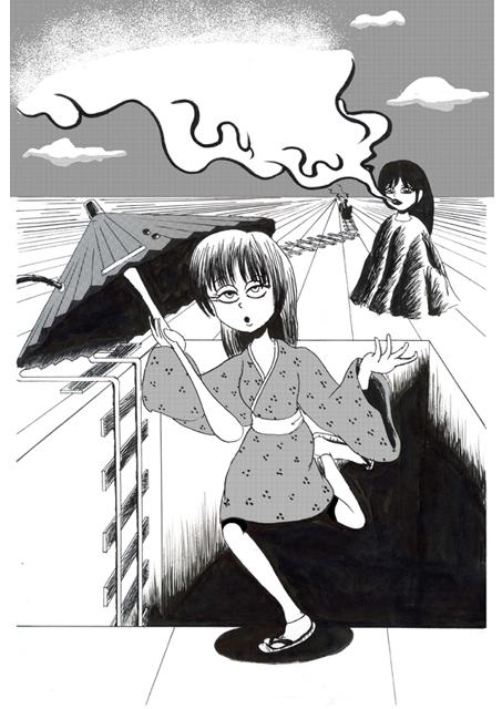 s-怪奇骨董電気傘