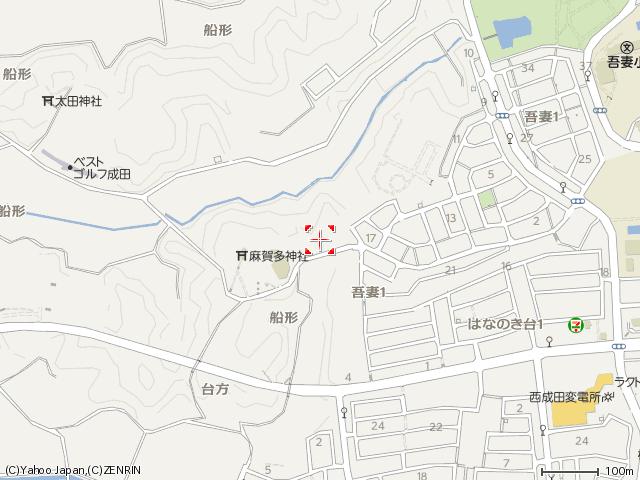 麻賀多神社船形マップ