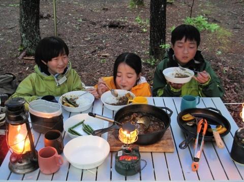 美味しい夕食
