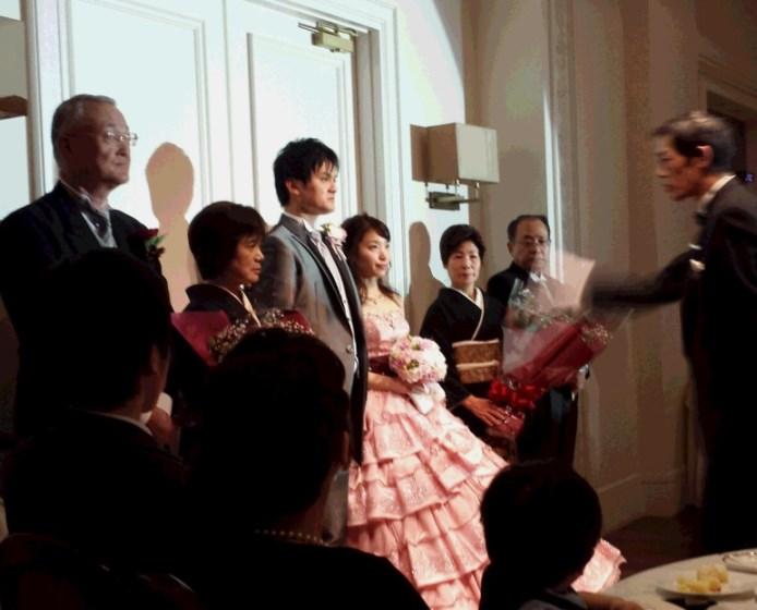姉 結婚式