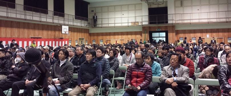 新庄小個人演説会 2014