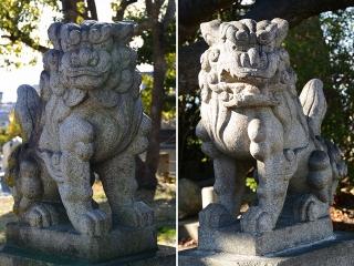 有松神社の狛犬
