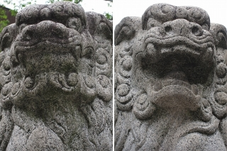 三輪神社 狛犬