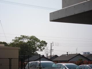 中学校 火の見櫓