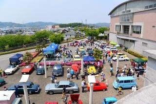 ハッピネス・ヒル・幸田 わくわくキッズフェスティバル2014 ビンテージカー&スーパーカー展