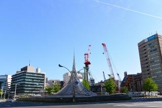 名古屋駅前 モニュメント「飛翔」