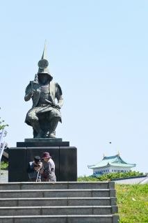 加藤清正 公銅像