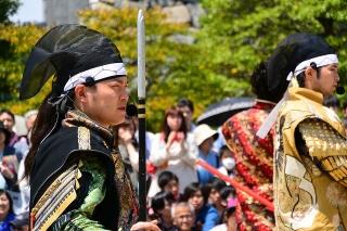 名古屋城 名古屋おもてなし武将隊