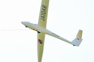 岡崎滑空場 グライダー