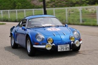 第25回 クラシックカー・フェスティバル ルノー アルピーヌA110