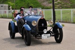 第25回 クラシックカー・フェスティバル ブガッティ タイプ40