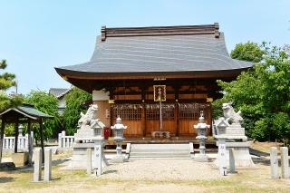 神明社 (坂左右神社)