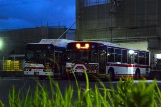 名鉄バス バス待機所