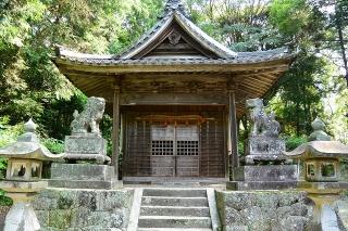 恵田八幡宮の狛犬