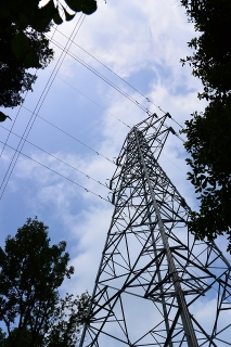 村積山自然公園 鉄塔