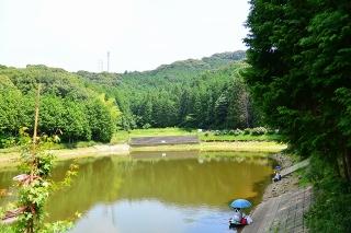 村積山自然公園 奥山田池