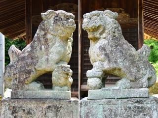 村積神社(下宮)の狛犬