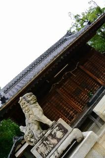 御鍬神社の狛犬