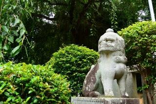 土呂八幡宮の狛犬