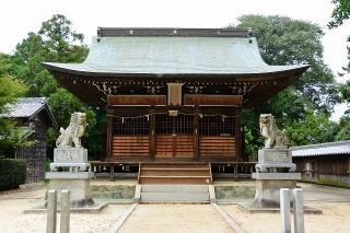 犬尾神社の狛犬