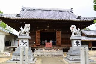 糟目犬頭神社の狛犬