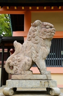 綿積神社の狛犬