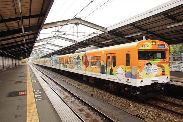 ラッピング列車「OSAKA POWER LOOP」