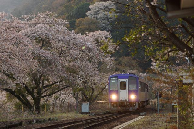 笠置駅入線②