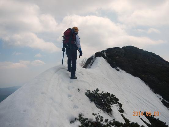 霞沢岳14-5-3-5
