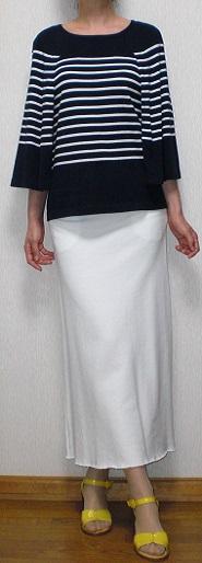 白ジャージスカート2
