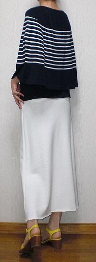 白ジャージスカート3