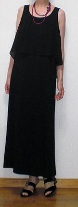 ブラックドレス2