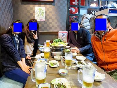 東京より参戦の精鋭部隊4名